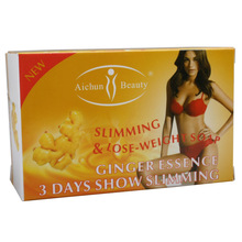 3 days effective ginger body slimming soap 100g, Fat Decreasing Soap,Skin Whitening Soap anti cellulite weight loss products(China)
