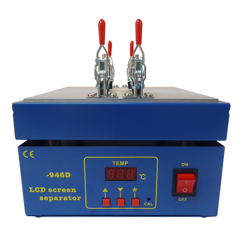 Touch Screen LCD Separator, Screen Separator Machine Support Max 5.5inch Screen With 20pc Free Cutting Wire<br>