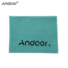 Andoer Cleaning Cloth Screen Glass Lens Cleaner for Canon Nikon DSLR Camera Camcoder for iPhone iPad Tablet Computer(China)