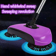 1pc Hand Push Sweeper Magic Broom Dustpan Handle Push Type Sweeping Machine Robotic Vacuum Floor Cleaner Household Cleaning Tool(China)