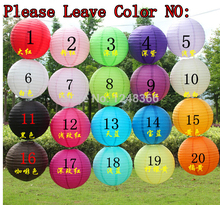 500pcs/lot 16 inch(40cm) Chinese Round White Paper Lanterns lamps for Wedding Party Home Decoration oliday party supplies(China)