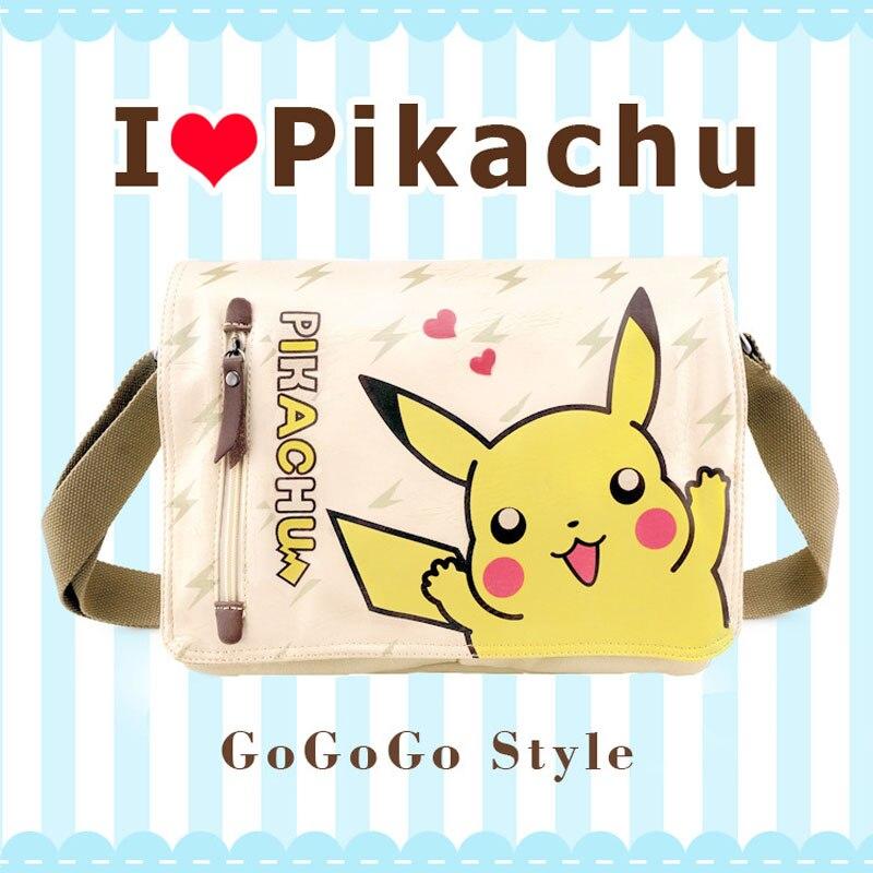 2017 Cartoon Pokemon Pikachu Messenger Bag Girls Boys School Bags Kids Book Bag Shoulder Bags for Teenagers Mochila<br><br>Aliexpress