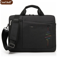 Coolbell 15.6 inch Notebook Computer Laptop Bags for Men 2017 Women Case Briefcase Shoulder Messenger Bag D195