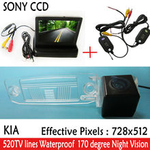 Buy WIFI camera Auto Parking SONY HD CCD Car Rear View Camera 4.3 inch Car Rearview Mirror Monitor KIA Sportage R 2010-2014 for $50.39 in AliExpress store