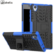 Buy AKABEILA Military Armor Kickstand Phone Case Sony Xperia L1 G3311 G3312 G3313 Sony Xperia E6 Dual Cover for $3.16 in AliExpress store