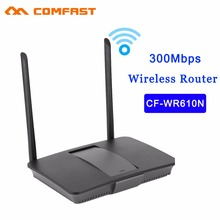COMFAST 300Mbps Wireless Router CF-WR610N 300M 204G Wifi Wireless Router WiFi Repeater with Dual Antenna Adapter
