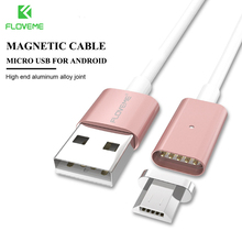 FLOVEME Magnetic Cable for Samsung Huawei Xiaomi Meizu Android Phone Accessories Micro USB Cable Magnet Fast Charging Nylon Line
