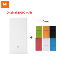 NEW 2016 Original Xiaomi Power Bank 20000mAh 2nd Portable 20000 mAh Powerbank Dual USB Port Charger For Iphone 6S Samsung S6 Pad