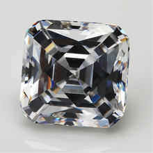 50Pcs AAAAA Best Quality White Tycoon Cut Square With blunt corner cubic zirconia 3x3-10x10mm Synthetic Gems stone For Jewelry(China)