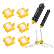 6 Hepa Filter + 1 set hair Brush kit + 2 side brush for iRobot Roomba 700 Series 770 780 790 vacuum cleaner accessories parts
