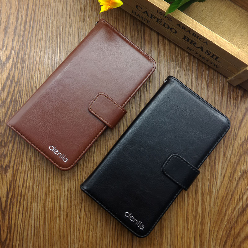Hot Sale! Nomi i4510 BEAT M Case New Arrival 5 Colors High Quality Fashion Leather Protective Cover Phone Bag(China)