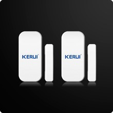 Wholesales Kerui Extra Home Wireless Door Window Detector Gap Sensor For Home Alarm System Touch Keypad Battery Included(China)