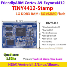 FriendlyARM Exynos Quad core Cortex A9 TINY4412 Stamp Module 1G RAM + 8G Flash Core Board Android 4.2(China)