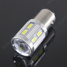 1Pcs High Quality P21W/5W  1157 BAY15D 12 SMD 5730  Reverse Light 5630 Brake Lamp Turn Signal Bulb Q5 Canbus OBC Error Free