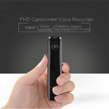 Metal Pen Camera Mini DV 1080P FHD Mini Camcorder Vedio Voice Record Security Study Daily Recording Charing & Uninterrupted DV(China)