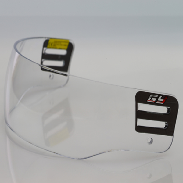 PC Material clear ice hockey visor V600 outside anti-scratch and inside anti-fog with CE  freeshipping<br><br>Aliexpress