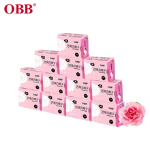 OBB 12 Packs New Anion Sanitary Napkins Pads 250mm 120pcs Daily Use Ultra Thin Ultra Soft Feminine Hygiene Sanitary Towels(China)