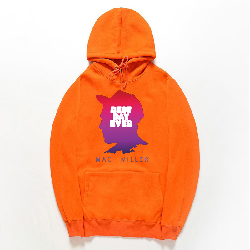 Mac Miller Album Sweatshirt Mac Black And White Unisex Hoodie Album Music