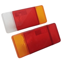1 Pair Left Right Car Stop Reverse Rear Tail Light Lamps Lens Cover Shell For Iveco /Eurocargo /Daily /Fiat /Ducato /Peugeot(China)