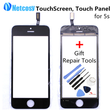 Touch Screen Digitizer Front Touch Panel Display Glass Lens TouchScreen for iPhone 5s with Gift Tools Mobile Phone Accessories