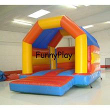 inflatable trampoline jumping playground,Inflatable castle Moonwalk Jumper,Inflatable Playground Inflatable Bouncer Bouncy House(China)