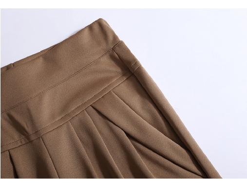 New Autumn Women Casual Loose High Waist Harem Pants Ladies Office Pants Plus Size Trousers S~4XL 5XL 6XL Blue Red Khaki Brown 15