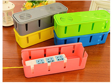 New Cable Box Electrical Outlet Power Strip Wire Cord Collection Storage Box Organizer Tidy Device Cable Tidy Box