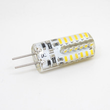 2015 New 1pcs 3W 5W Dimmable G4 LED 12V DC 24 48 x 3014 SMD Bulb Replace Halogen Lamp Led Light