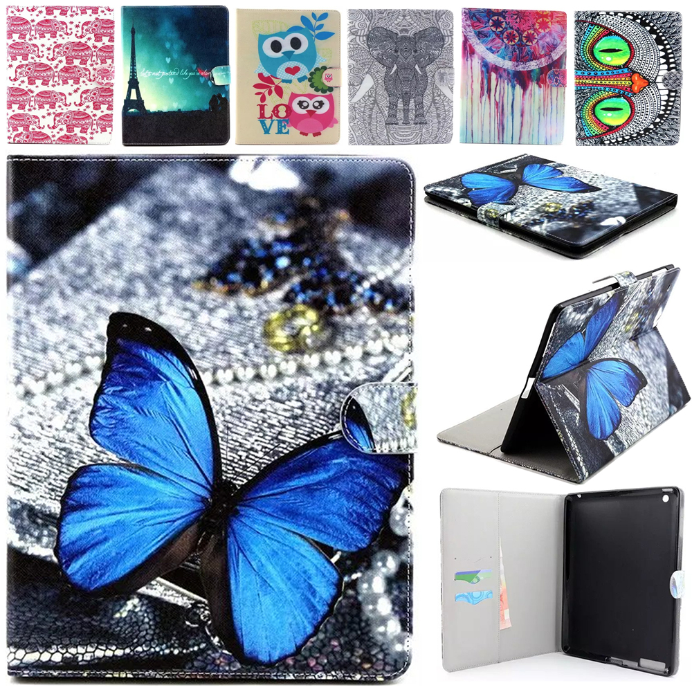 For Apple iPad 2 iPad 3 iPad 4 case PU Leather Tablet Stand Flip Cute Kids Cover For iPad 2 3 4 Tablet cases With Card Holder <br><br>Aliexpress