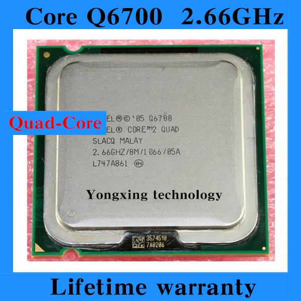 Lifetime warranty Core 2 Quad Q6700 2.66GHz 8M Four nuclear threads desktop processors CPU Socket LGA 775 pin Computer<br><br>Aliexpress