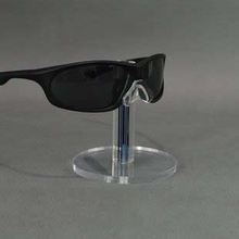 High Quality Acrylic Sunglasses Display Stand Single Eyeglasses Showing Rack Glasses Holder Showcase(China)