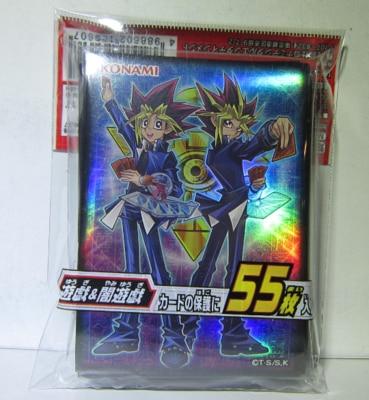 "Yugioh Duelist Card Sleeves KONAMI 55PCS /""Blue Eyes White Dragon/"" Sealed"