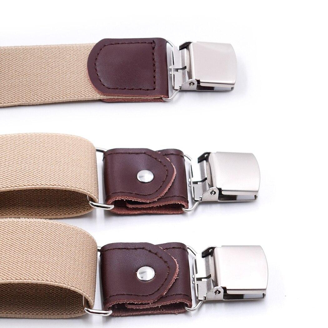 Etats-Unis unisexe élastique Y-Shape Bretelles Homme Femme Clip-on bretelles réglables f7