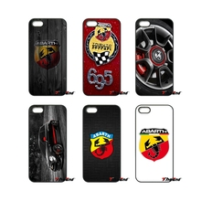 For iPhone X 4S 5 5C SE 6 6S 7 8 Plus Samsung Galaxy Grand Core Prime Alpha For Stunning Super Car ABARTH Logo Cell Phone Case(China)