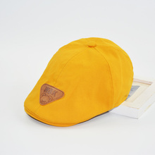 HAPPYTAIL NEW Fashion Children Beret Bonnet Cotton Summer Beret Hat Boys and Girls Hat Adjustable for Kid 3-8 Years(China)