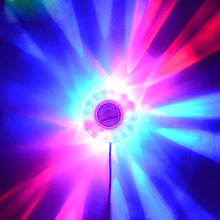 Party Disco Club DJ Light Show Lumiere Colorful wedding room beam lights background Mini RGB lamps LED Stage Effect Lighting(China)