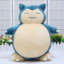 "Valentine's Day 1pcs 20inch""50cm Plush Toy Snorlax Plush Anime New Rare Soft Stuffed Animal Doll For Kid Gif free shipping"