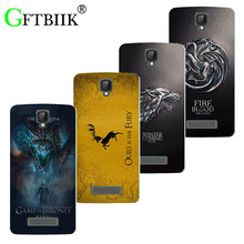 "Cute Cartoon Case For ZTE Blade L5 Plus / Blade L5 5.0"" Soft Silicone Case Fashion Printed Football Cover Game of Thrones 7"