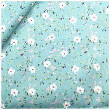 Floral Printed Diy Quilting Bedding Decoration Tissue Cotton Fabric Home Textile Patchwork Sewing Cloth Craft Fabrics Tecido(China)