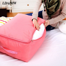 LDAJMW Multi-function Guilt Bag Clothes Folding Boxes Oxford Bout Large Storage bag Bedding Organizers Container(China)