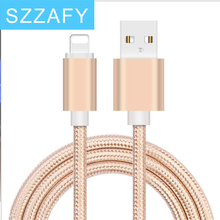 Original USB Cable 0.5M 1M 2M  8 Pin Transfer Data Sync Line Charging Charger Cable for iPhone  5S 5C 6 6Plus 6S for iPad