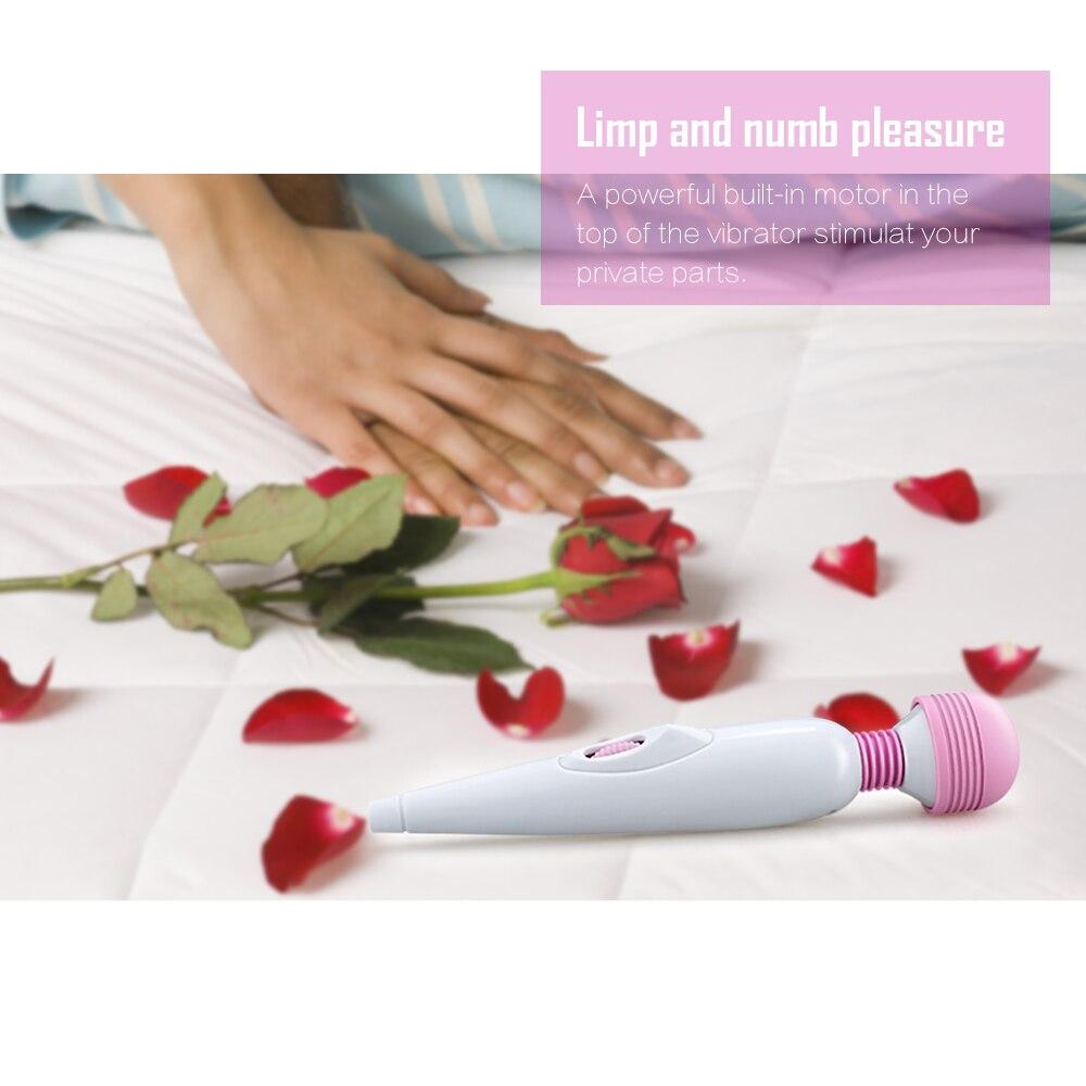 _08Umania Women Mini AV Magic Wand Orgasm Clitoral Stimulator Portable Massager Vibrator Sex Toy, Adlut Sexo