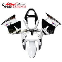 Full Fairings For Kawasaki ZX6R ZX-6R Ninja 636 00 01 02 2000 2001 2002 ABS Plastic Motorcycle Fairing Kit  White Black
