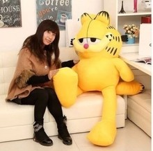 NEW STuffed plush toy lovely huge Garfield doll soft Toy birthday gift about 150cm(China)