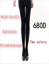 Top Quality Female Sexy Slim 680D Stockings Tights Compression Pantyhose Women Leg Shaper Slim Stockings For Women romper