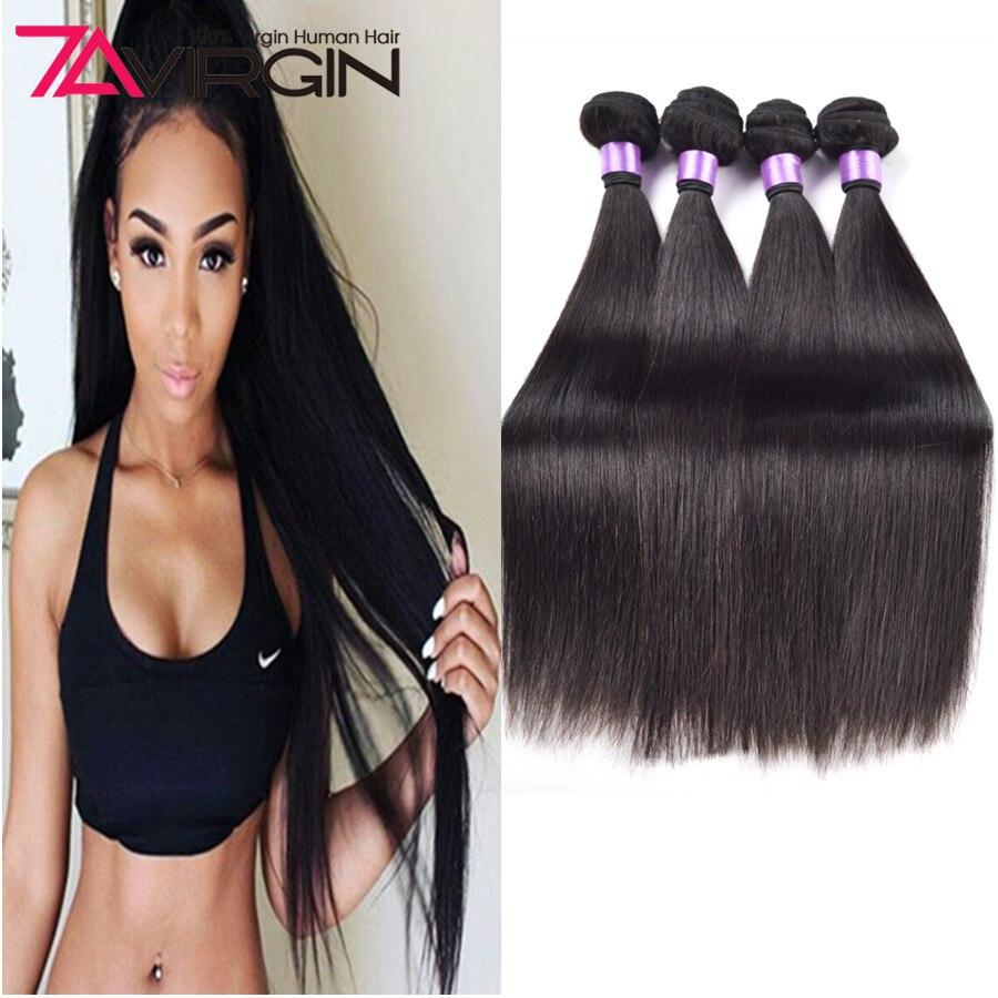 Best Mink Brazilian Virgin Hair 4 Pcs Brazilian Straight Hair Weave Bundles 7A Cheap Brazilian Straight Human Hair Extensions<br><br>Aliexpress