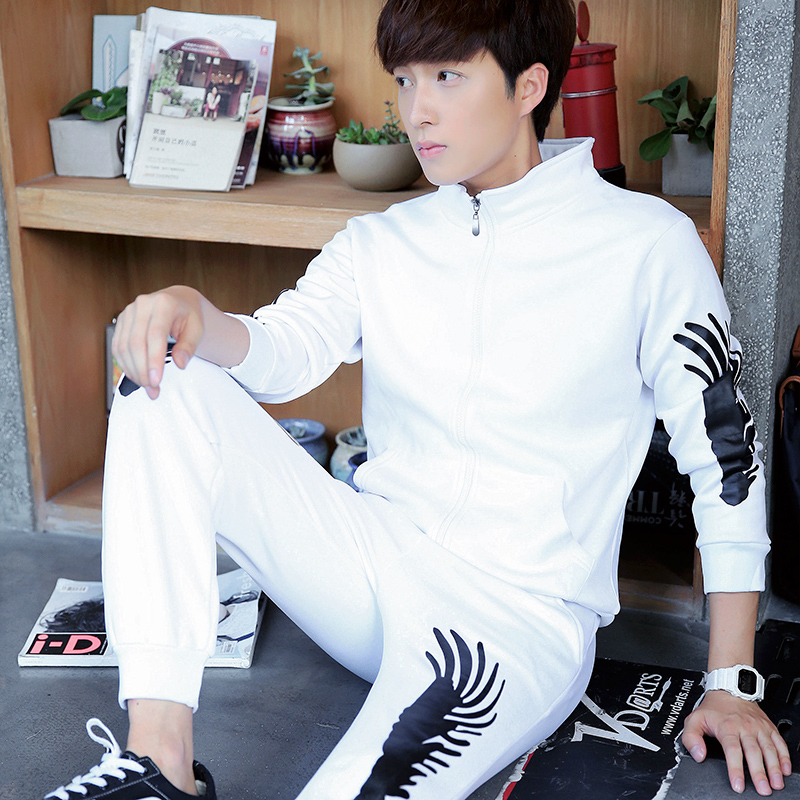 2016 Sport Suits Autumn new mens large size 5XL youth sports trousers jogging clothes zipper Tracksuits<br><br>Aliexpress