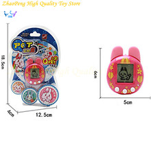 Virtual Cyber Digital Tamagochi Pets Electronic Juguetes E-pet Retro Funny Toy Handheld Game Machine Brinquedo Gift For Children