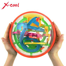 XC925A 2015 New Big Puzzle Ball Educational Magic Intellect Puzzle Game Magnetic Balls for Kids-138 Steps