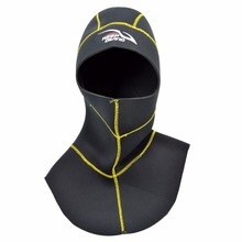 Diving Hood With Shoulder Snorkeling Equipment  Hat Cap Winter Swim Warm Wetsuit Spearfishing 3mm Neoprene Scuba